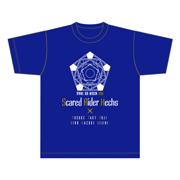 スカーレッドライダーゼクススペシャルイベント春のサブミッション2018TシャツB柄ブルー