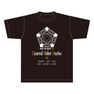 スカーレッドライダーゼクススペシャルイベント春のサブミッション2018TシャツB柄ブラック